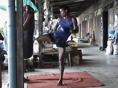 buakaw when training Muay Thai